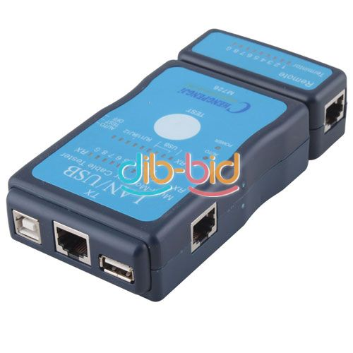 Usb Cable Tester : New multi modular rj network lan usb wire cable