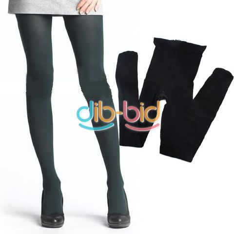 Women Fashion Style Velvet Opaque Pantyhose Color Stockings Tights 80D
